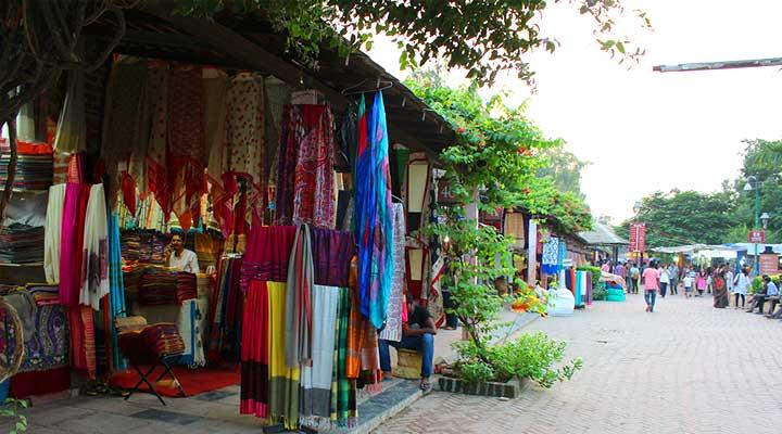 Delhi haat cloths and Saree