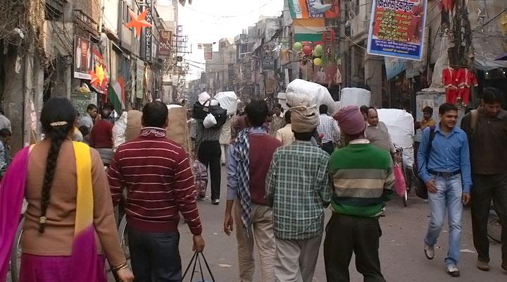 Sadar Bazar wholesale market