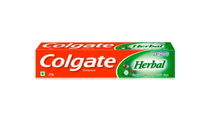 Natural herbal toothpaste