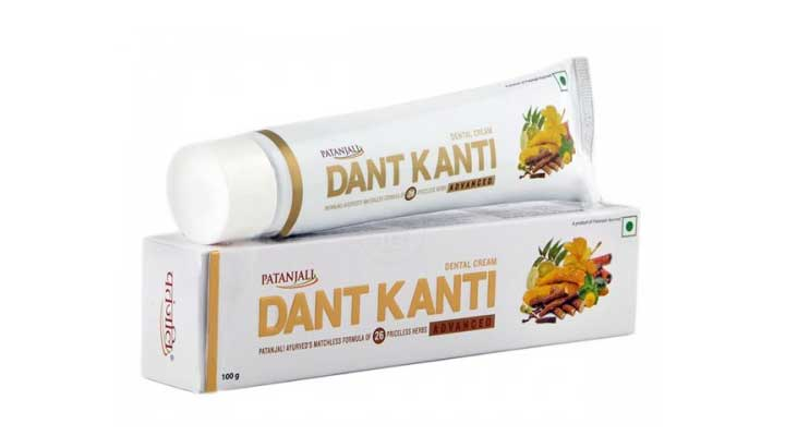 Natural toothpaste for daily use