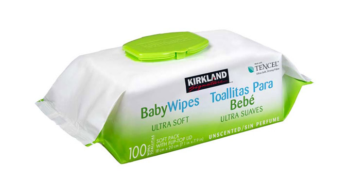 safe to use baby wipes