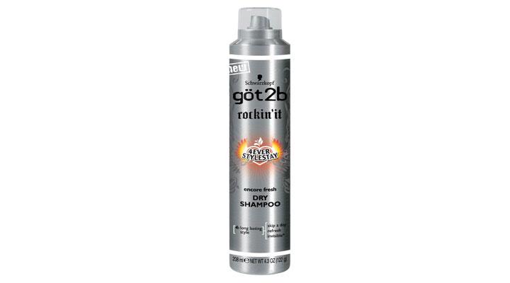 Party wear dry shampoo spray