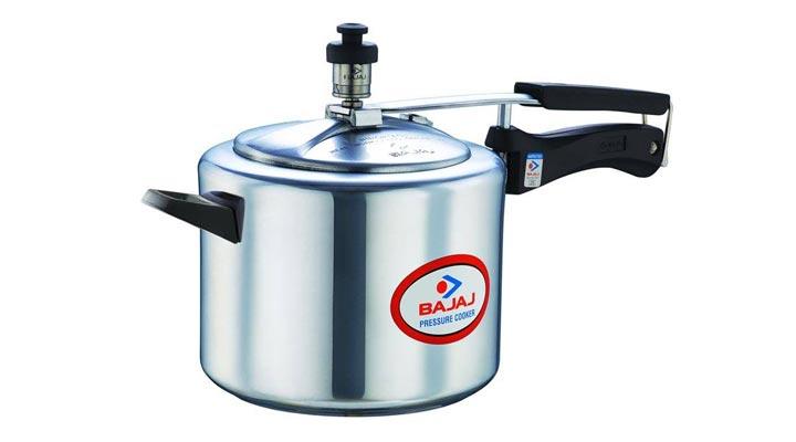 best bajaj majesty pressure cooker