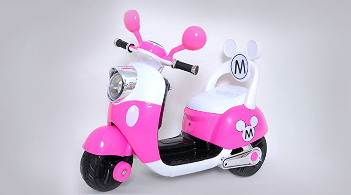 New and Imported Versla Rose motorcycle tricycle for children