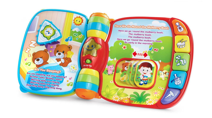 best musical rhyme book for baby