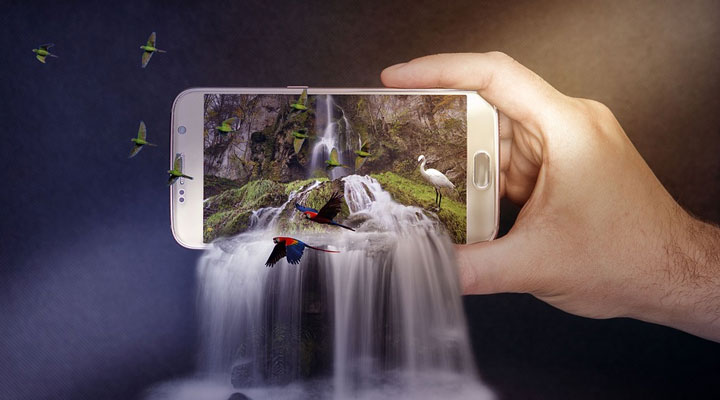 smartphone for casual photography