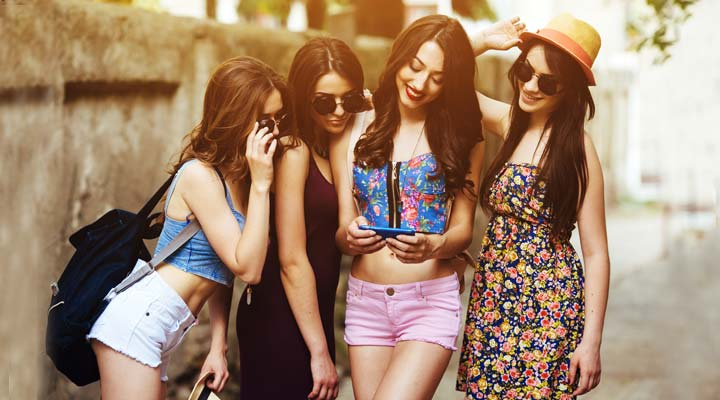 how smartphone improve your fashion style