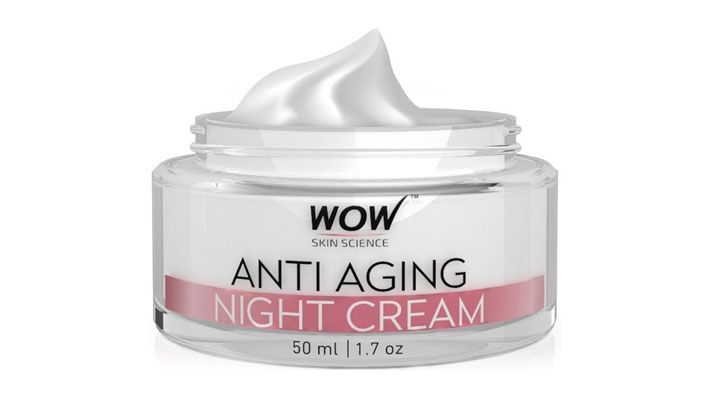 paraben-free anti-ageing night cream