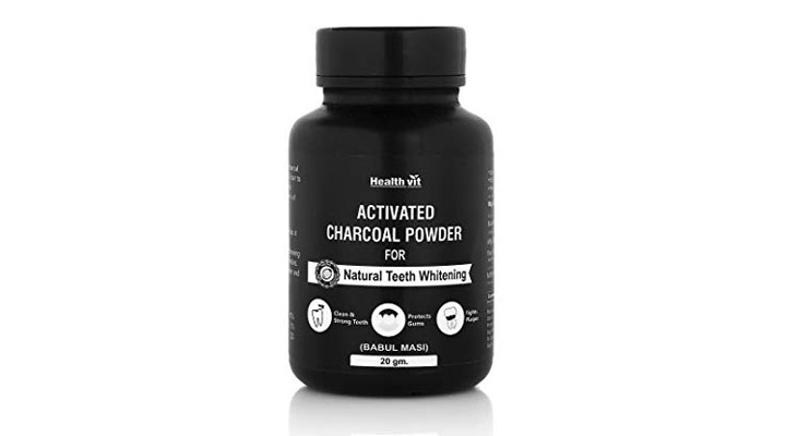 best charcoal for whitening teeth