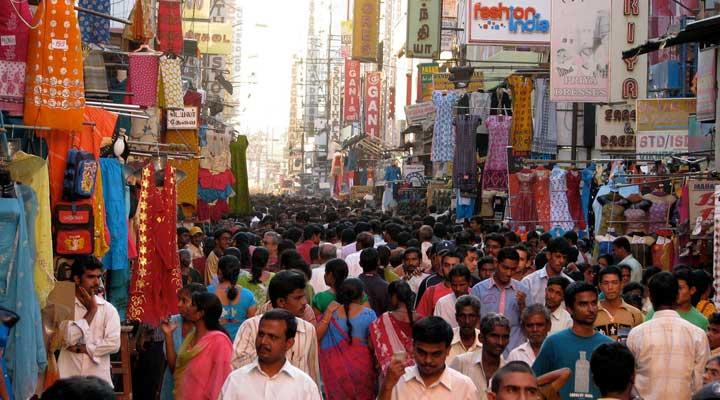 fashion street in Chennai