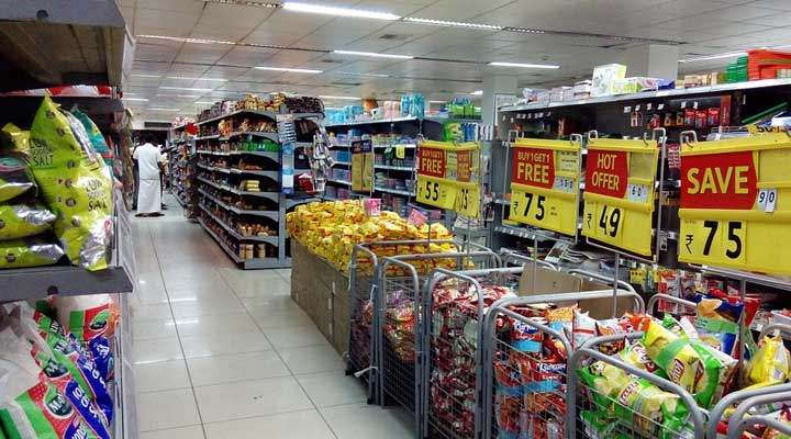 types of retail industry