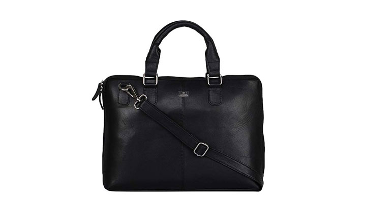 best leather messenger laptop bag for men