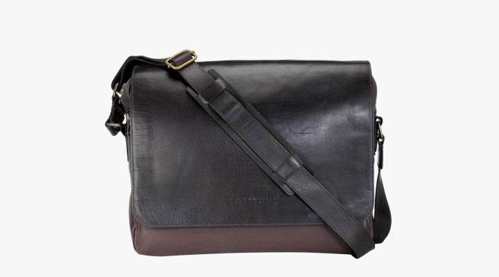 best genuine leather messenger bag