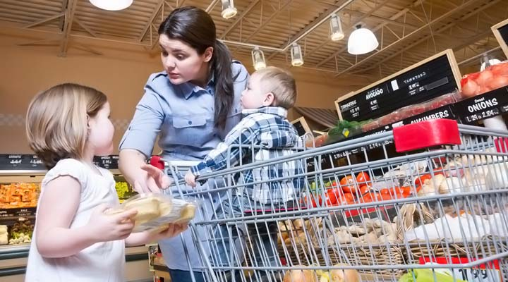 problems faced while shopping with kids