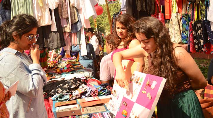 kamla ngargar market shopping destination for college students