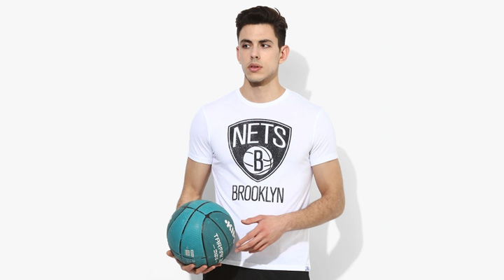 nba white t-shirt