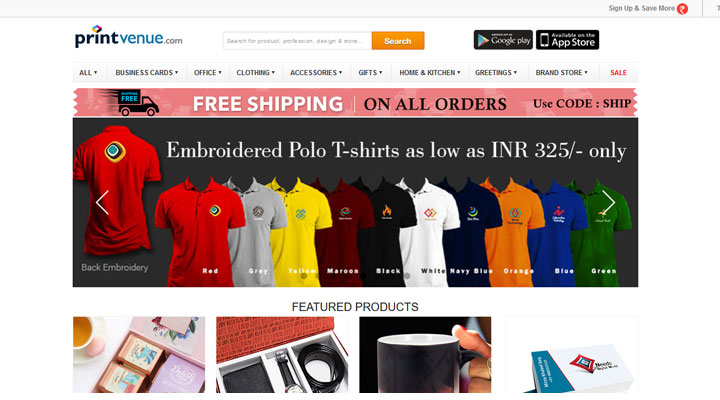 best polo shirt printing india
