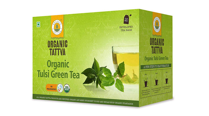 best organic green tea brand in India